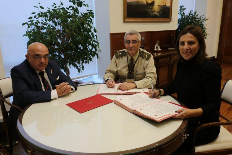 El Ayuntamiento de Ronda y el Ministerio de Defensa firman el protocolo de intenciones definitivo para la cesión de los terrenos del antiguo Cuartel
