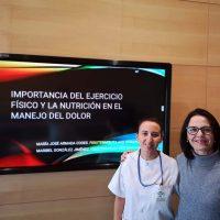 Fisioterapeutas del Hospital de Ronda ofrecen consejos sobre alimentación y actividad física para el manejo del dolor osteoarticular