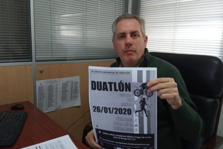 La concejalía de Deportes recupera el Circuito de duatlón 'Ciudad de Ronda'