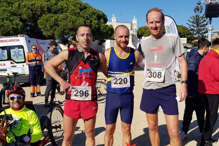 Gran actividad del Club Harman Trail con corredores en cuatro pruebas deportivas
