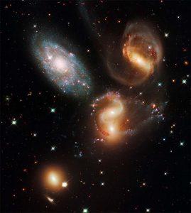 El Quinteto de Stephan. (NASA/ESA/HST).