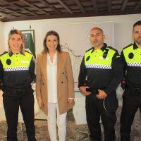 La Policía Local incorpora tres agentes en prácticas