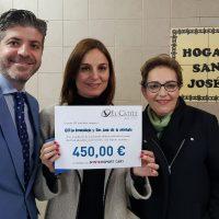 El Catite realiza un donativo al Hogar San José de la Montaña