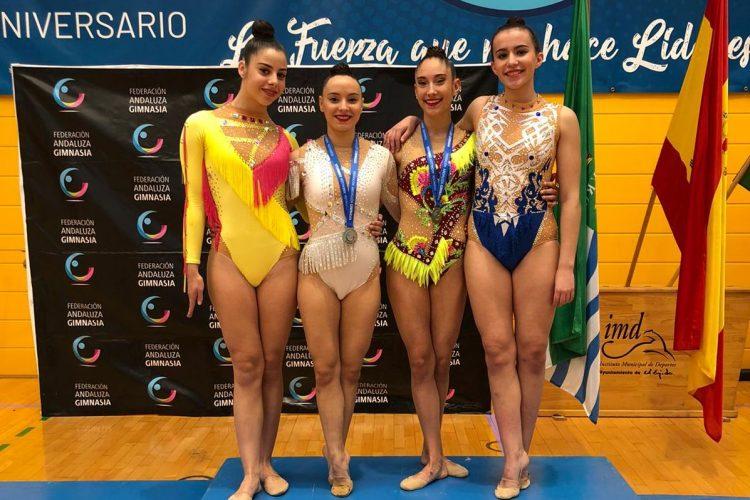 Tres gimnastas del Club  Agra se clasifican en El Egido para Campeonato Nacional Base Individual