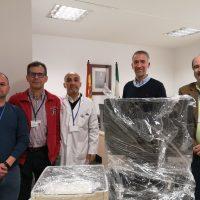 El Área Sanitaria Serranía de Málaga, en Ronda, entrega equipamiento informático a El Buen Samaritano
