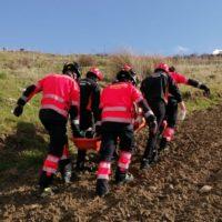 Un parapentista resulta herido durante un vuelo en Ronda y es trasladado al Hospital de la Serranía