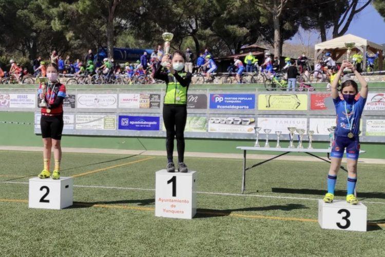 Los deportistas del Harman Trail consiguieron tres medallas en las competiciones del fin de semana