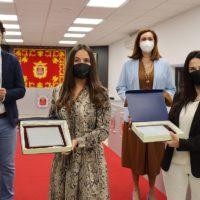 La Diputación de Málaga homenajea en Ronda a dos vecinas que han cumplido los cien años