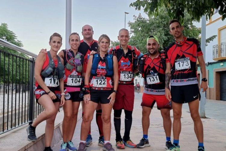Deportistas del Harman Trail logran cuatro medallas en la II Carrera Nocturna de Alcalá del Valle
