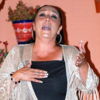 La ganadora de la Lámpara Minera de la Unión, Amparo Heredia 'La Repompilla' trae su arte a la Peña Flamenca de Ronda