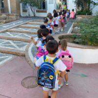 Los alumnos rondeños regresan a las aulas con las mismas medidas de prevención ante el Covid