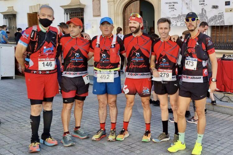Brillante fin de semana para los corredores del Club Harman Trail Running que triunfaron en varias competiciones