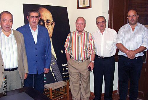 Miembros de la Comisión en la presentación.