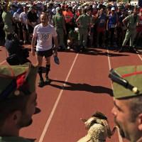 Los 101 kilómetros es una de las pruebas deportivas más duras de España que organiza la Legión de Ronda.