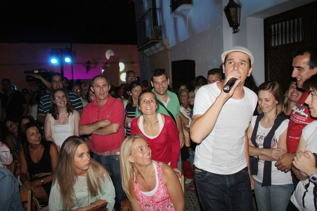 El concierto de Javier Ojeda supuso el colofón a la noche.