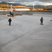 Realizan mejoras en el skate park y las pistas de petanca de la ciudad deportiva