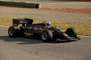 El Lotus 97T, pilotado en 1985 por Ayrton Senna en el Mundial de F1.