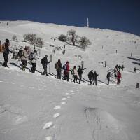 Numerosos senderistas recorren estos parajes únicos de la Serranía de Ronda.