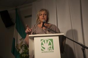 Isabel Barriga durante su intervención.