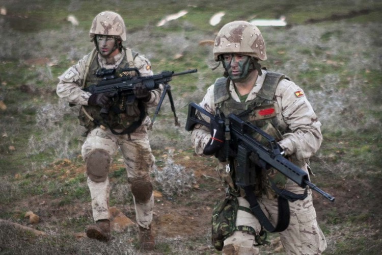 Defensa convoca 58 plazas para el Tercio Alejandro Farnesio 4º de la Legión de Ronda