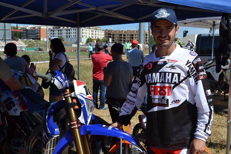 El motorista rondeño Cristóbal Guerrero, campeón del Cross Country