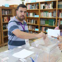 Alejando Serrato, número 4 de Unidos Podemos