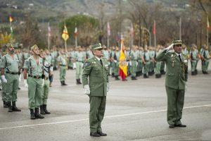 El coronel Armada a la izquierda y Salom a la derecha.