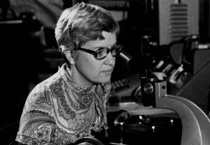 La científica recientemente fallecida Vera Rubin.