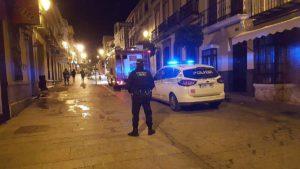 Las personas se quedaron atrapadas en un ascensor en calle Sevilla.