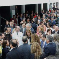 Díaz ha saludado a los alcaldes.