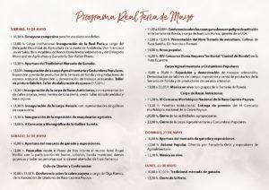Programa de AgroRonda.
