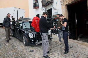 Uno de los vehículos con una cámara incorporada.