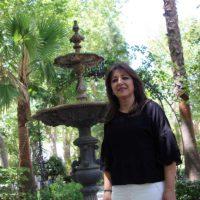 Amparo Molina, presidenta de las Damas Goyescas: «La verdad es que es una responsabilidad muy grande»