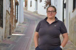 Raquel Mena, autora del libro.