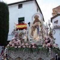 Ronda recupera las procesiones con la salida este domingo de Nuestra Señora de la Aurora