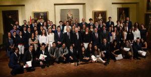 Imagen de familia de todos los premios concedidos.