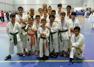 La escuela Seiken acudió con 16 deportistas.