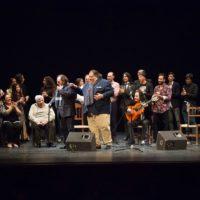 En la gala participaron numerosos familiares y amigos de Juan Orillo.