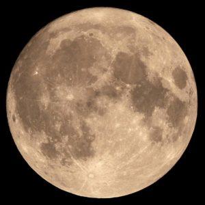 La superluna de noviembre del año pasado.