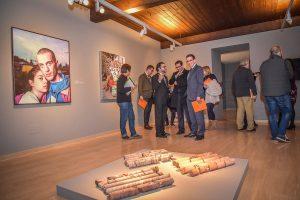 Las obras se pueden contemplar en el Museo Peinado.,