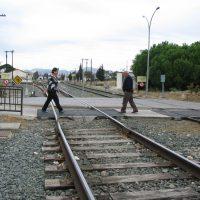 Otra avería en una locomotora provoca el corte de la línea férrea Algeciras-Ronda-Bobadilla