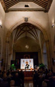 Actuación del músico italiano Marco Battaglia.