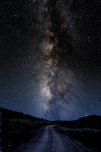 La Vía Láctea.