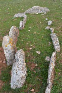 Conjunto de dólmenes.