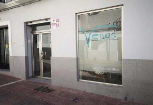 Instalaciones de Venus en calle María Cabrera, 50.