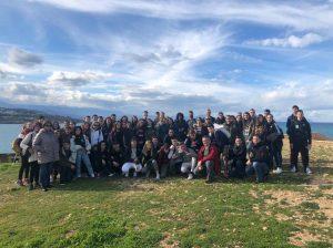 Grupo internacional de alumnos.