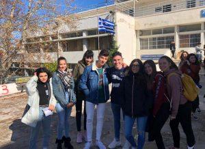 En las clases de Creta.