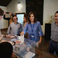 La popular venció las elecciones municipales al conseguir nueve concejales.