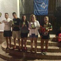 Atletas del Club Ascari-Harman