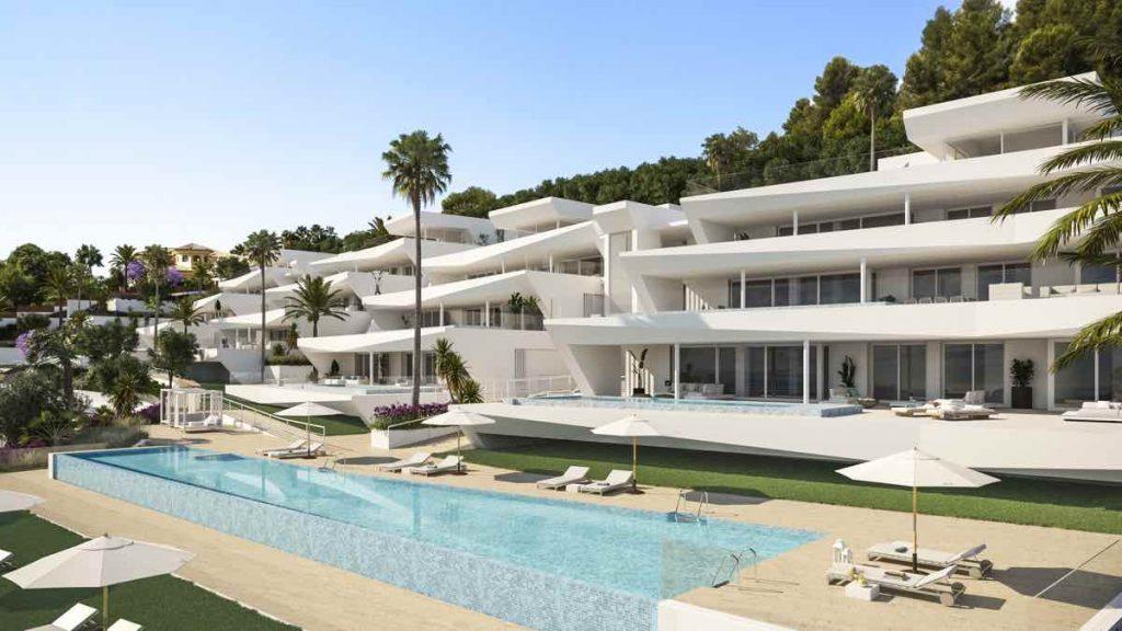 12 CHOSEN es un complejo de 12 apartamentos situados en Sierra Blanca, siendo ésta la mejor urbanización de Marbella